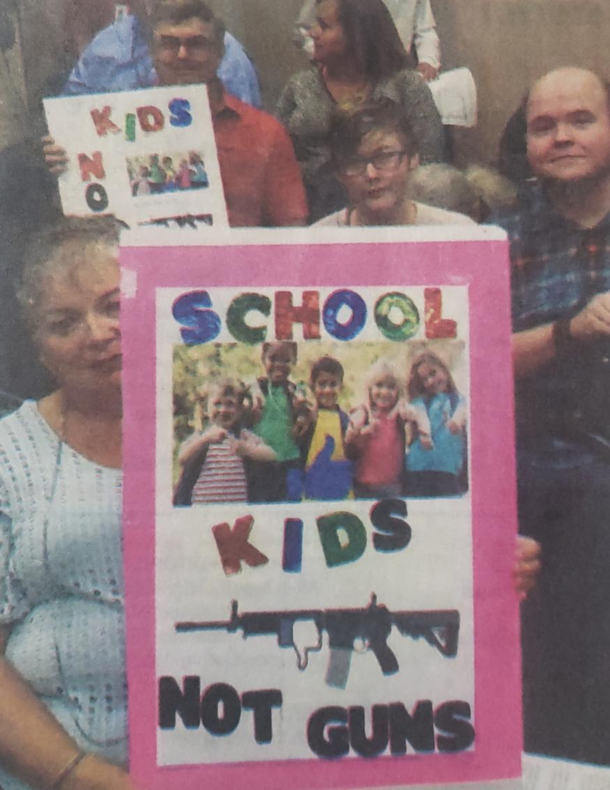 NO Gun Shows nr SCHOOL
